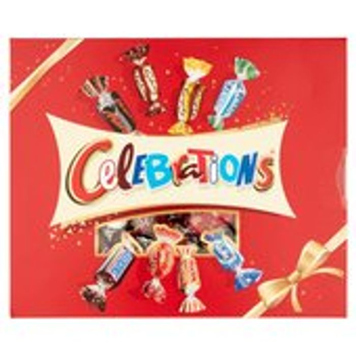 Celebrations 8 Famous Brands Gift Box 320g
