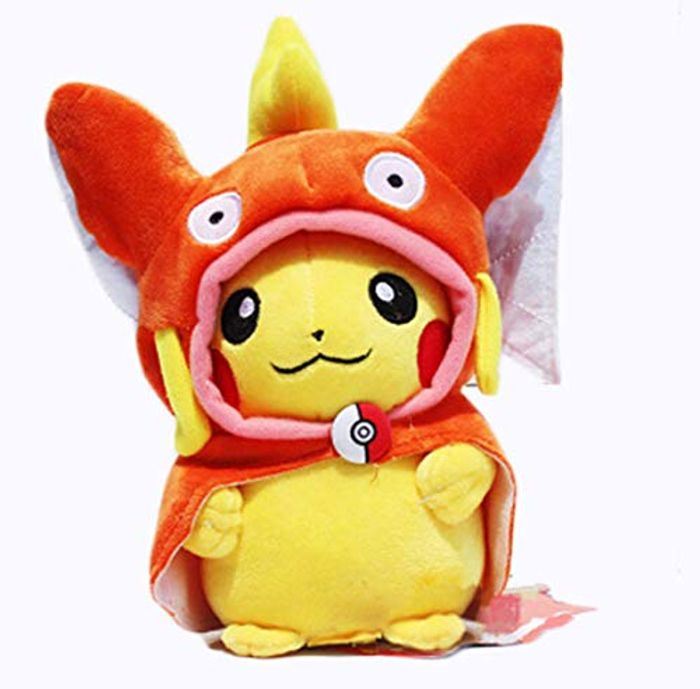 Pokemon Magikarp Pikachu - Orange FREE DELIVERY