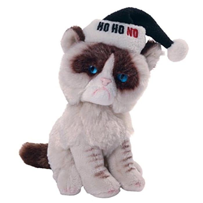 Grumpy Cat Grumpy Cat Holiday Soft Toy