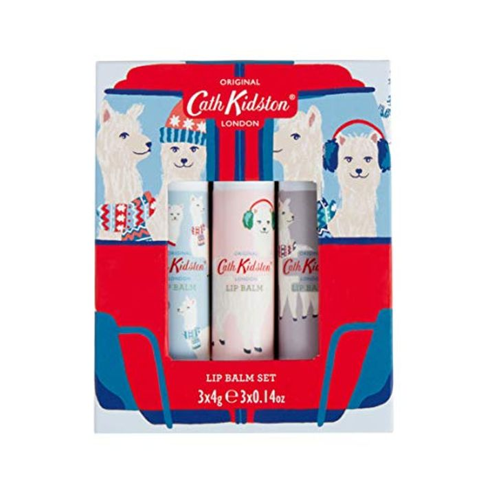 Cath Kidston Alpacas Lip Balm Set 3 X 4g Amazon 24 Hour Deal.