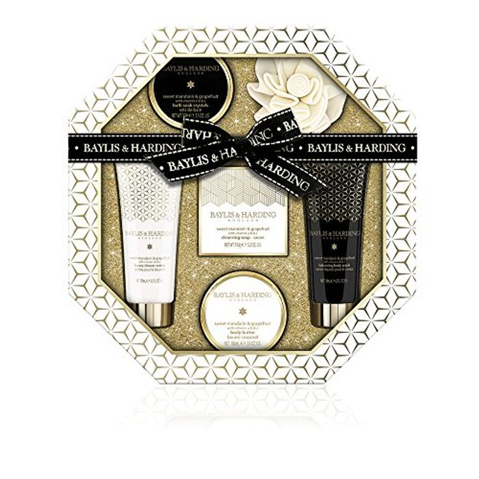 Baylis & Harding's Sweet Mandarin & Grapefruit Hexagonal Gift Set