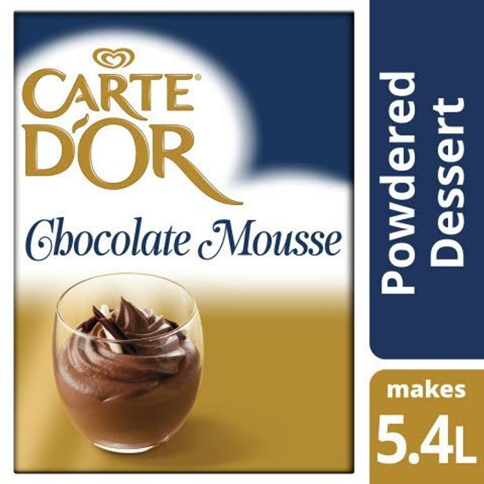 Carte dOr Chocolate Mousse Free Sample. ( TRADE ONLY )