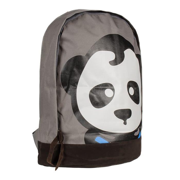 Blue Banana Panda Backpack (Grey)