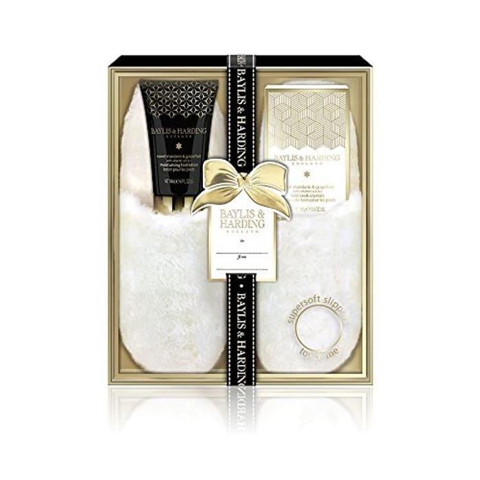 Baylis & Harding Sweet Mandarin and Grapefruit Luxury Slipper Gift Set