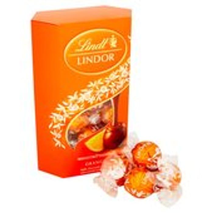 Lindor Milk Orange Chocolate 200g Buy 3 for £10