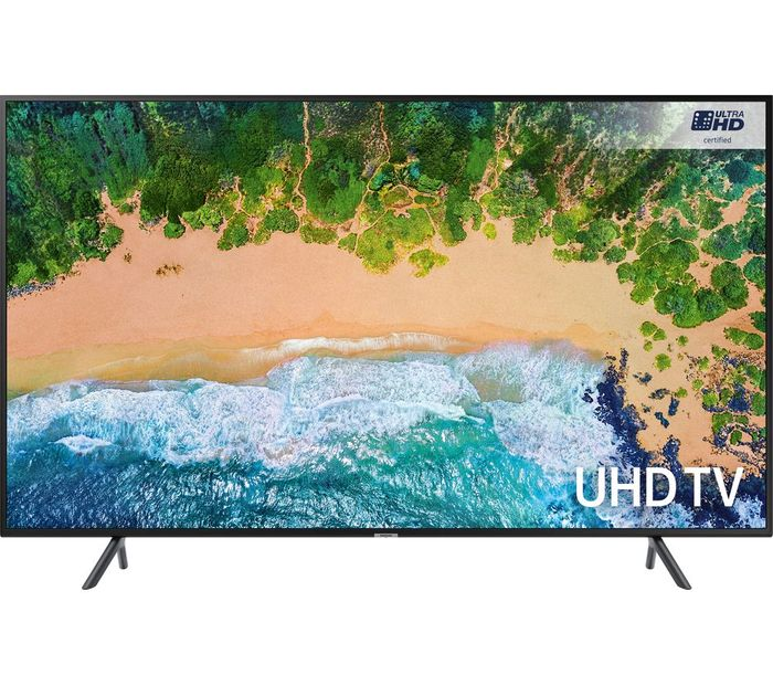"Samsung HDR 4K Ultra HD Smart TV, 65"" with TVPlus & 360 Design"