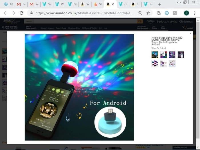 Mobile Stage Lights Mini LED Crystal Magic Ball