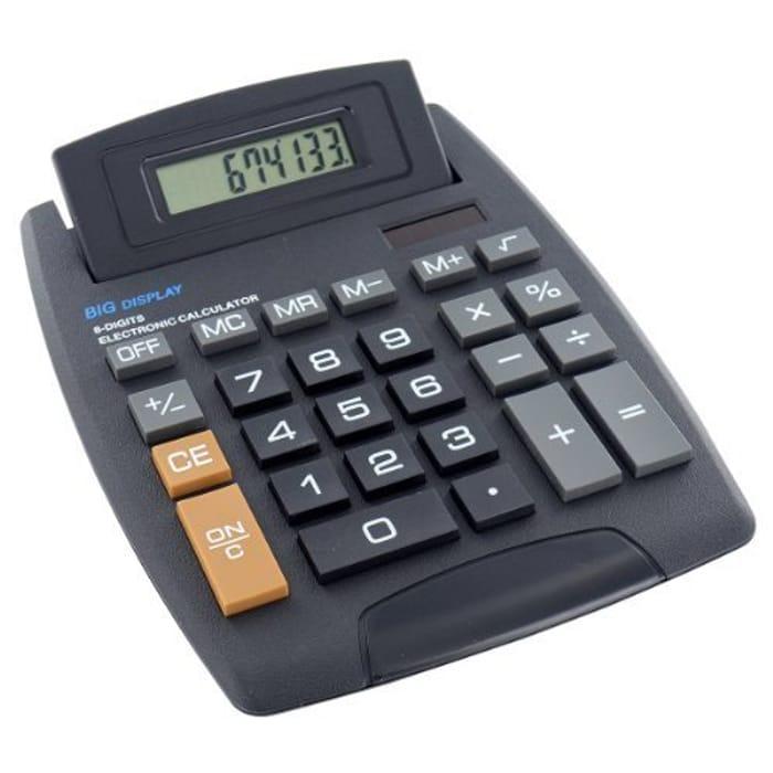 Jumbo Desktop Solar & Battery Calculator