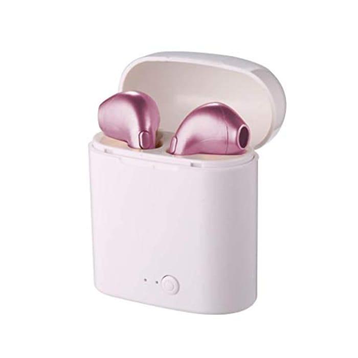 Sliwei Bluetooth Double Ears Ear Buds with Base
