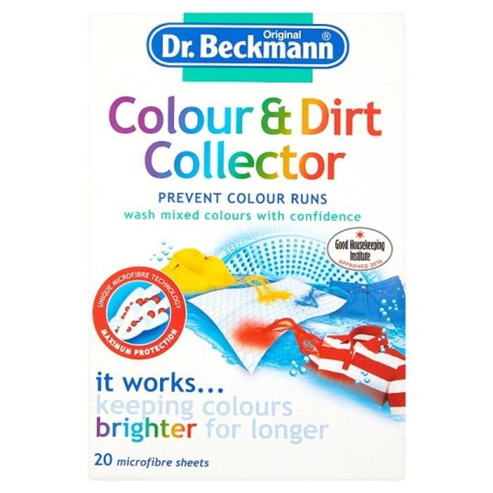 Dr Beckmann Colour&Dirt Collector 20 Sheets HALF PRICE