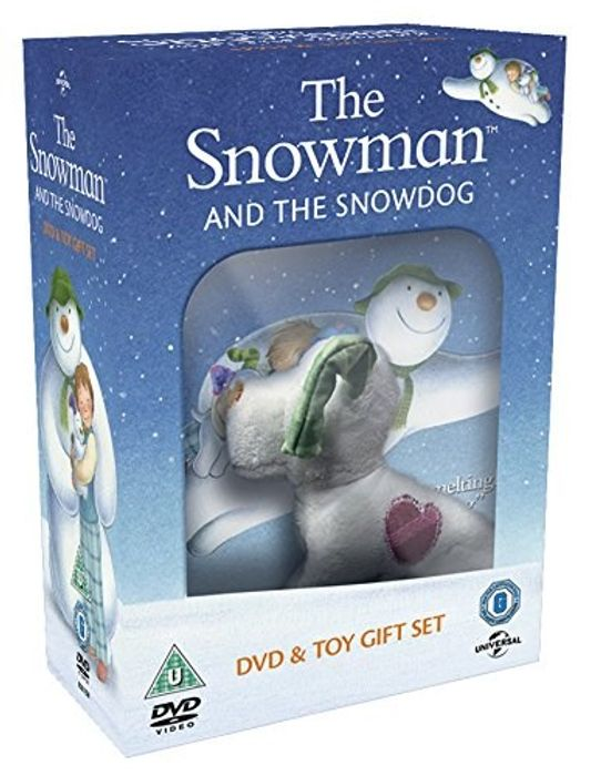 The Snowman and the Snowdog (DVD and Toy Gift)