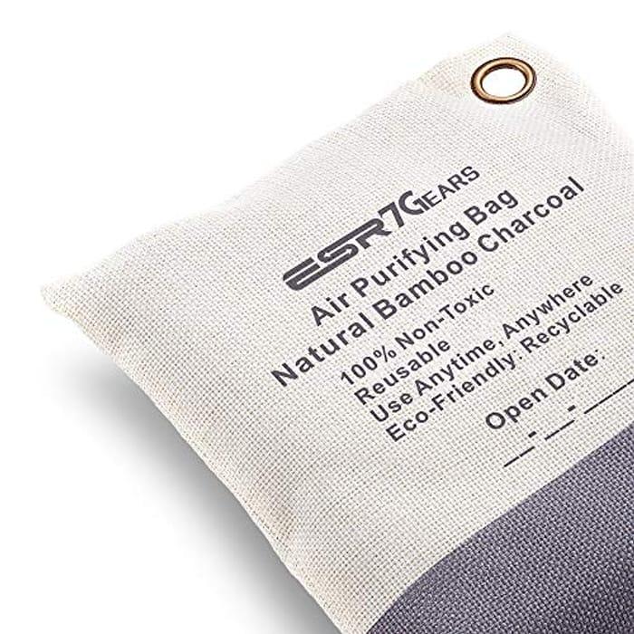 Air Purifying Bag Made of Bamboo Charcoal