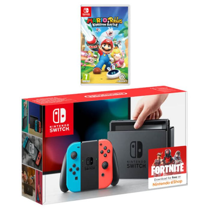 Nintendo Switch Mario + Rabbids Kingdom Battle Pack Only £309.99