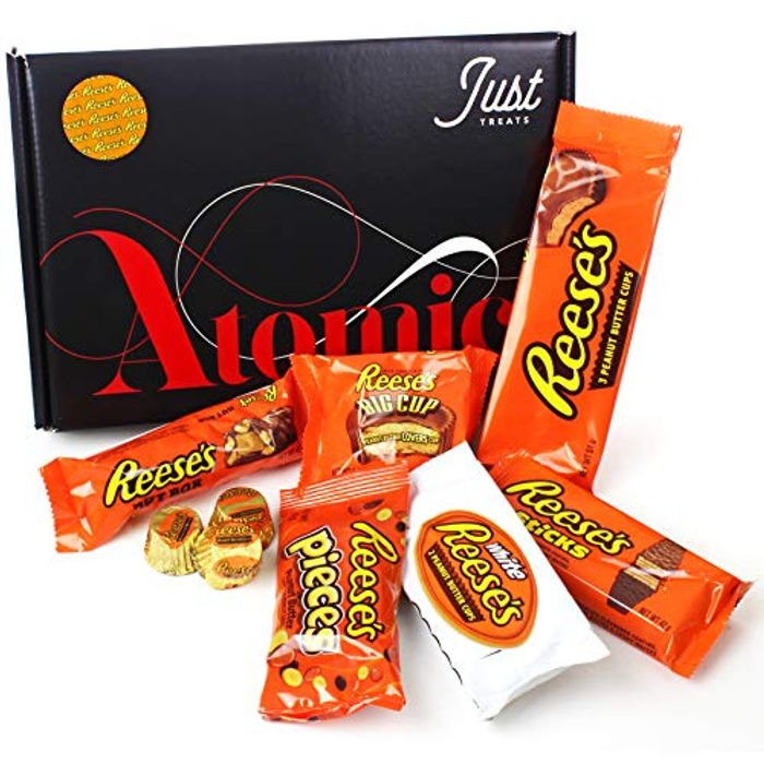 Just Treats Reese's Atomic Candy Bar Gift: Great Original USA Candy Bars