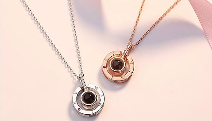 I Love You Silver Necklaces - Only £16!