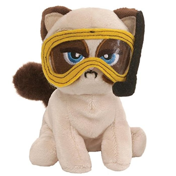 Grump Grumpy Cat Goes Fishing Soft Toy