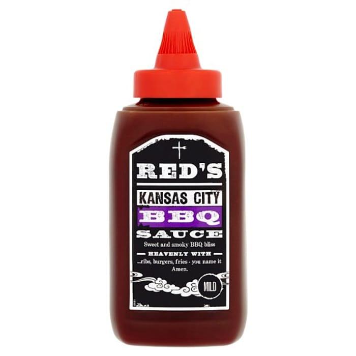 Reds Kansas City Bbq Sauce 320G HALF PRICE