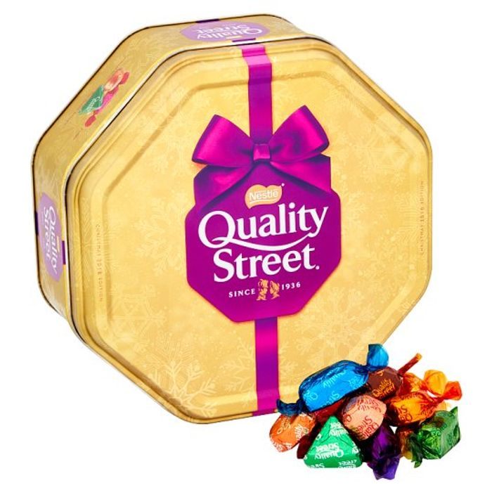 Giant Tin of Quality Street 871G on Le 5/12/18 1 Week Only