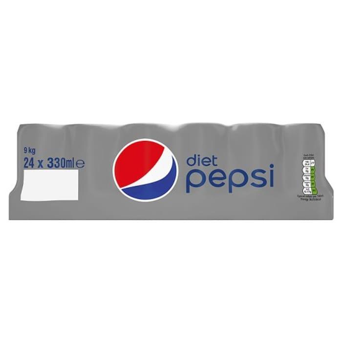 24 Cans of Diet Pepsi or Pepsi MAX