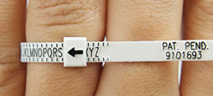 Complimentary Ring Sizer from h.samuel