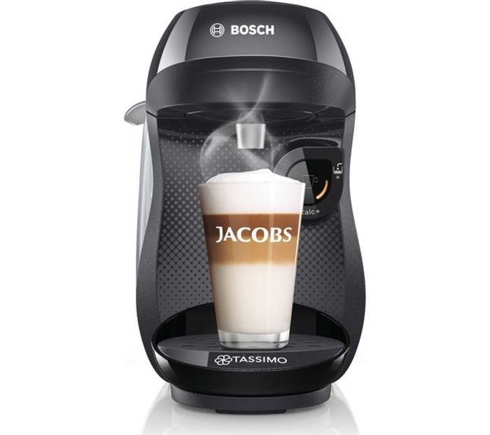 TASSIMO by Bosch Happy Coffee Machine - Black
