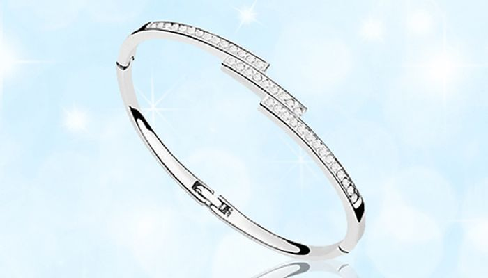 MEGA CHEAP! Swarovski Elements Triple Crystal Row Bracelet - 1 or 2
