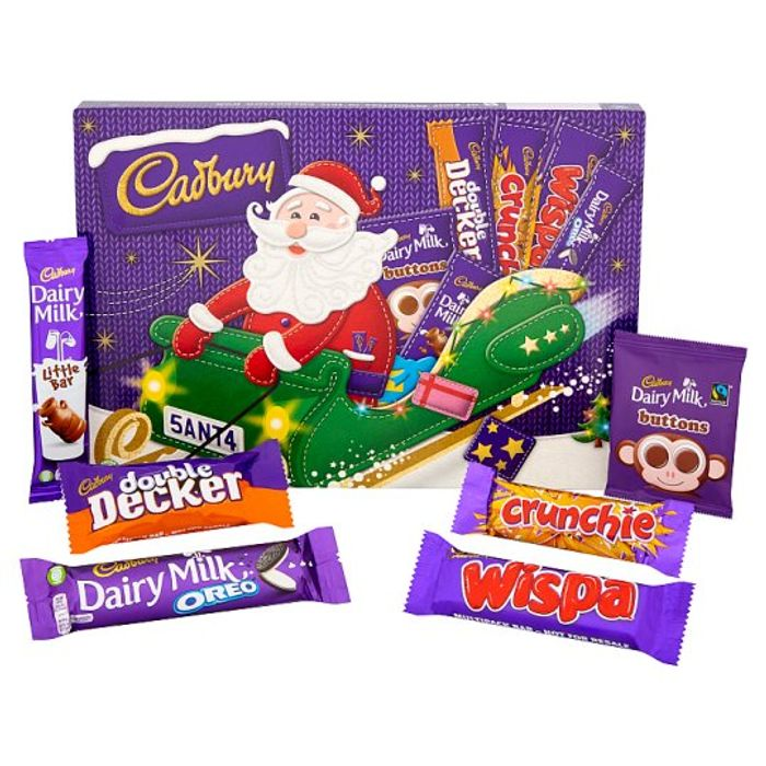 Cadbury Chocolate Snowman/Santa Medium Selection Box 169g