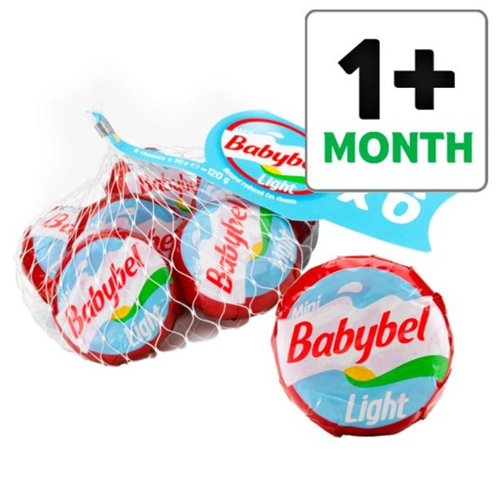 Tesco Light Mini Size Babybel 12 Pack