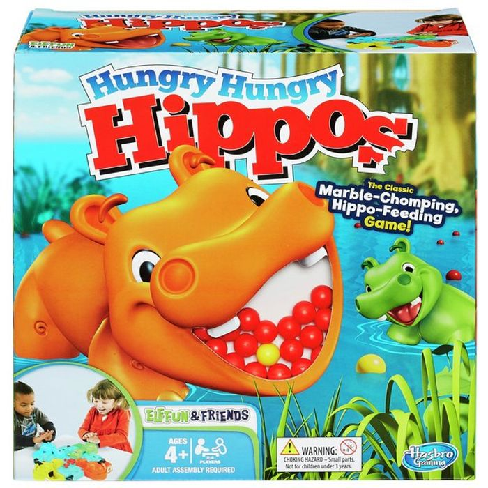 Bargain! Hungry Hungry Hippos Board Game at Argos