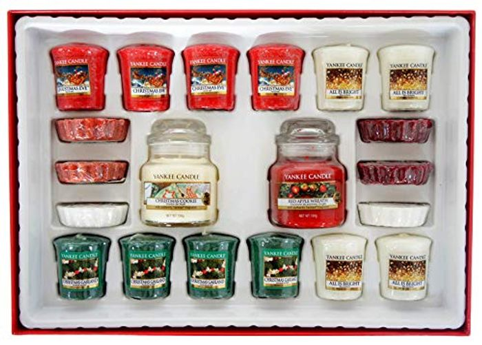 Yankee Candle Merry Christmas 20 Piece Selection Box Gift Set