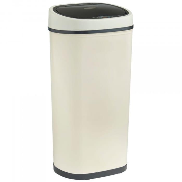 VonHaus 50L Sensor Bin Cream