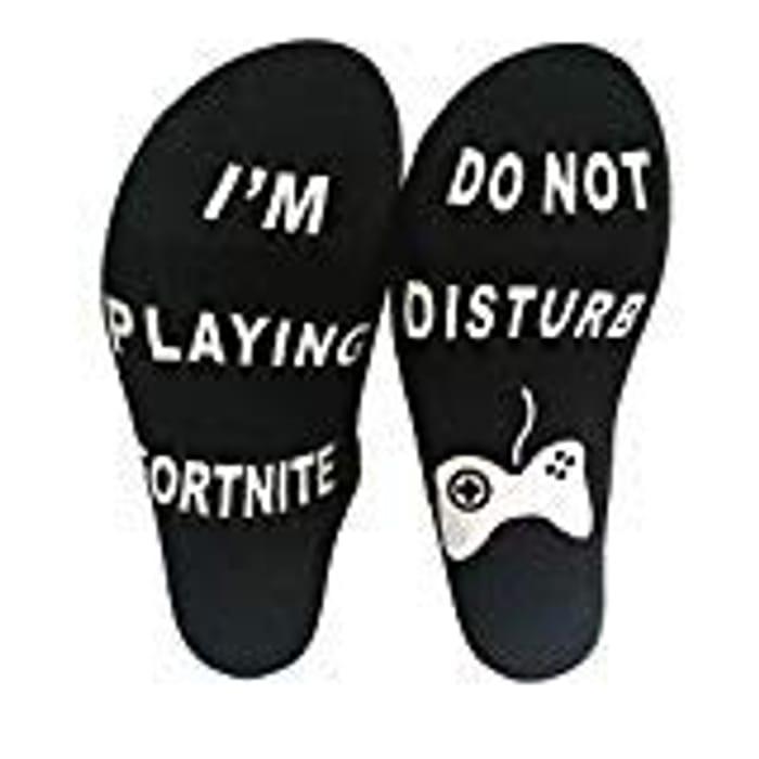 Do Not Disturb Fortnite Socks.