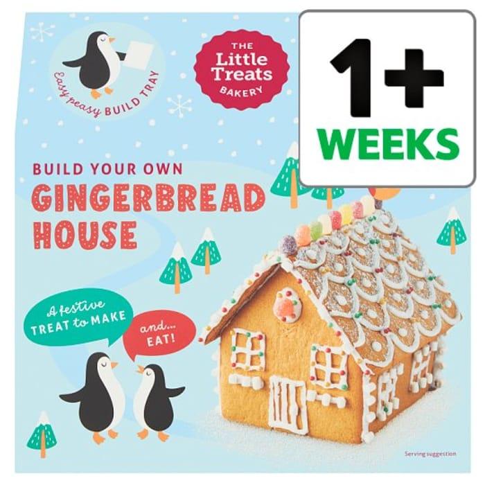 The Little Treats Bakery Gingerbread Christmas House