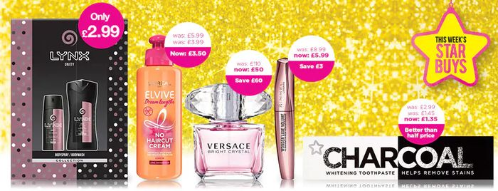 £10 off Orders over £50 plus Free Delivery at Superdrug