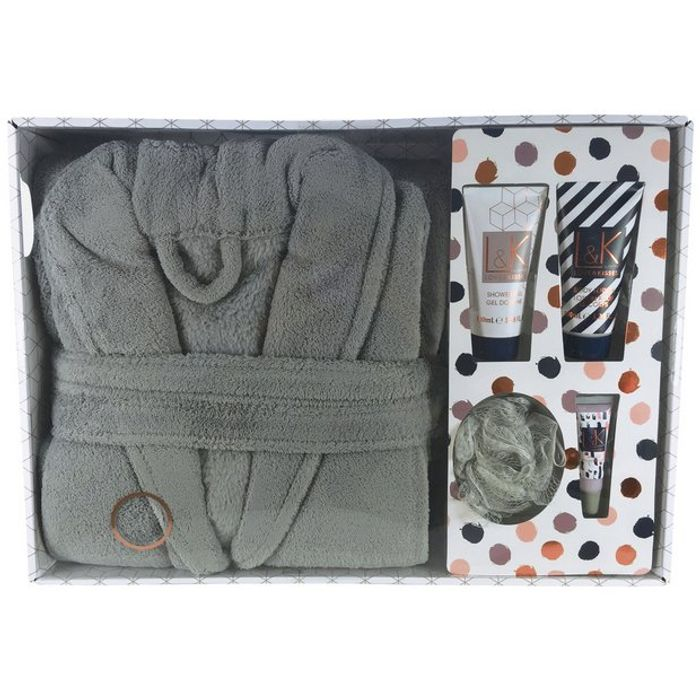 Technic Love and Kisses Bath Robe Gift Set