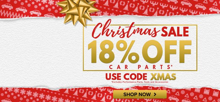 £10 off Orders over £75 at Car Parts 4 Less