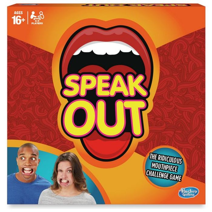 Speak out Game from Hasbro Gaming