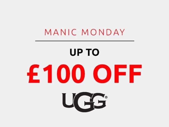Save up to £100 on Ugg | Manic Monday