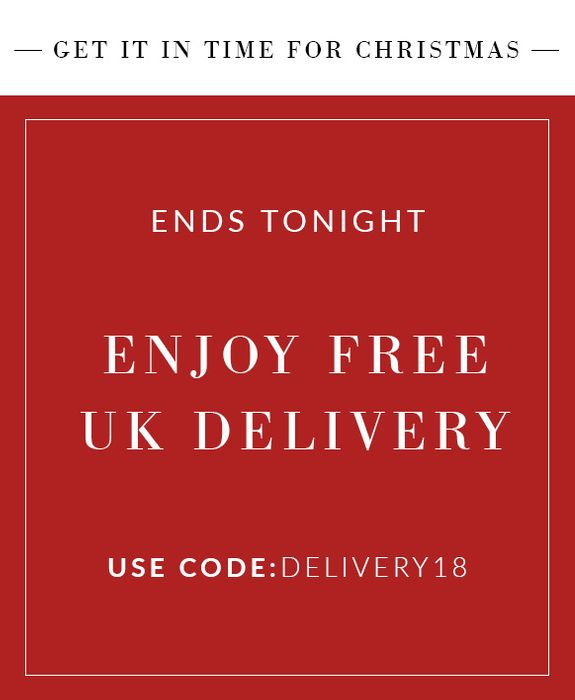 Free Delivery Ends Tonight!