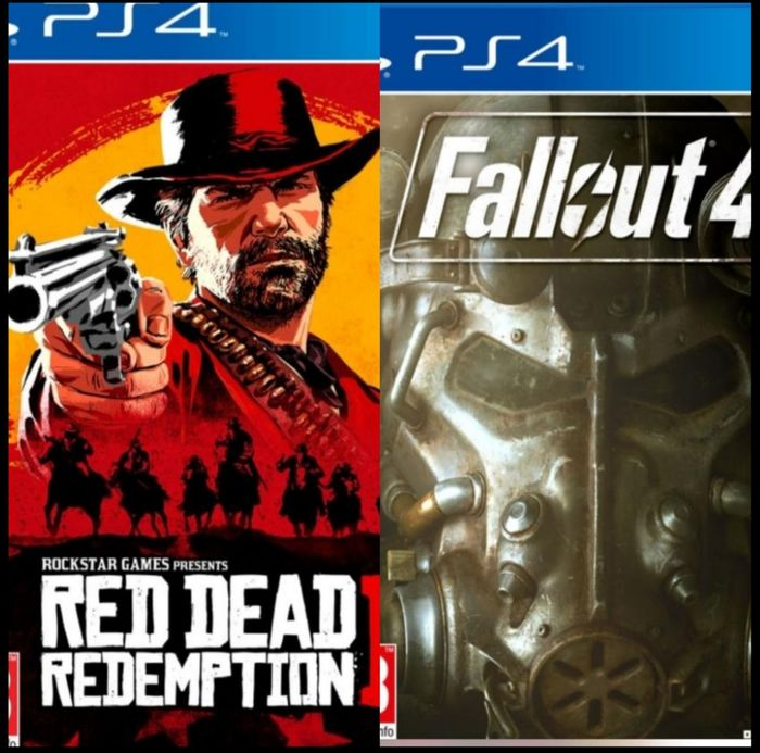 In-Store Get Read Dead Redemption 2 and Fallout 4 for £32.99