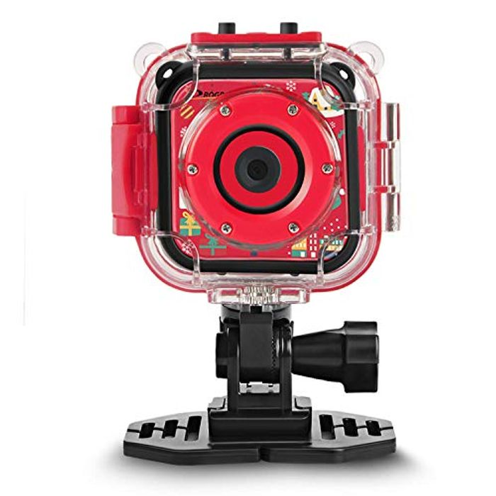 [Christmas Limited] Kids Camera Waterproof Action Camera 1080P Video Camcorder