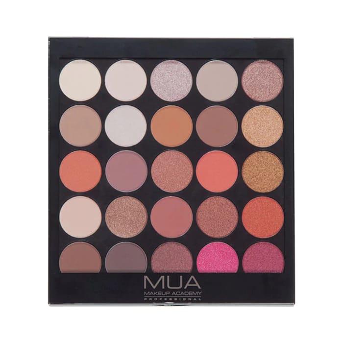 MUA Eyeshadow Palette - Burning Embers