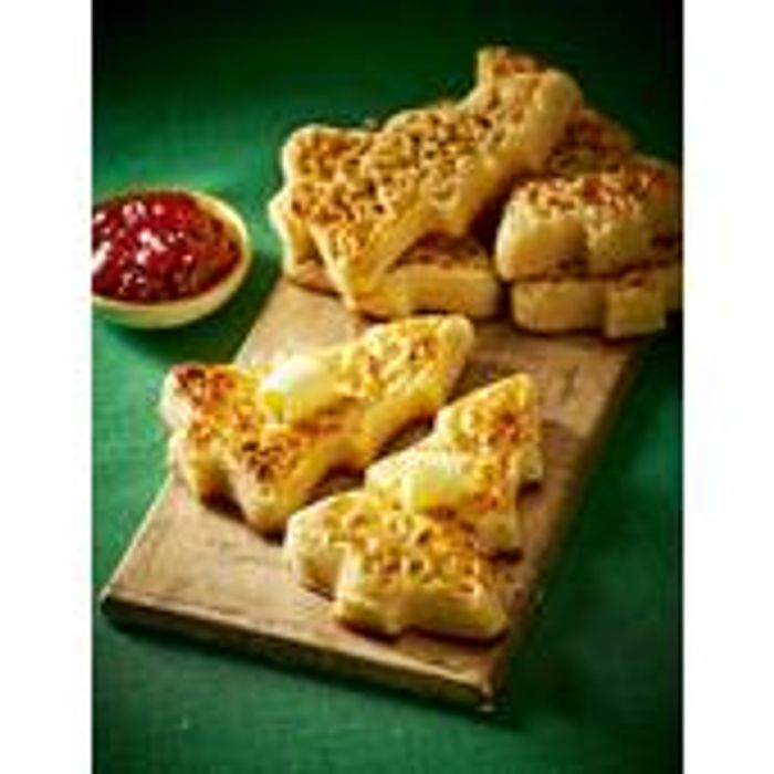 Christmas Tree Crumpets 6 Per Pack, £1 At Morrisons