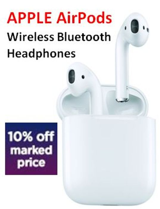 267ae6c2520 APPLE AirPods Wireless Bluetooth Headphones - 10% off with CODE ...