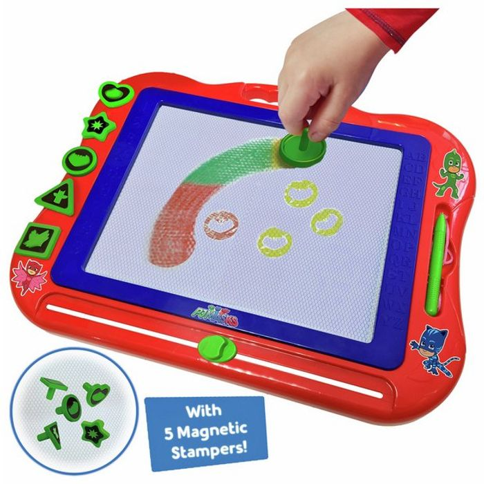 PJ Masks Colour Magna Doodle Drawing Tablet CLICK & COLLECT