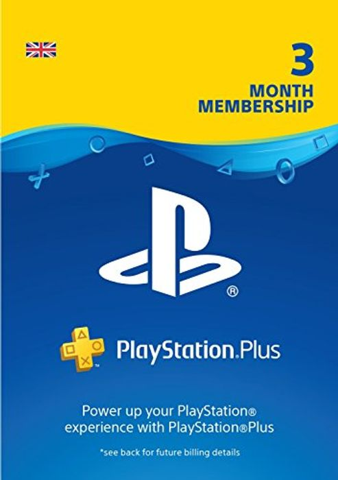 Playstation plus 3 Months £13.85