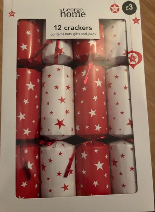 Asda Christmas Crackers - Was £3 a Box Now 75p