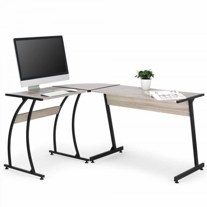 VonHaus L-Shaped Computer Desk