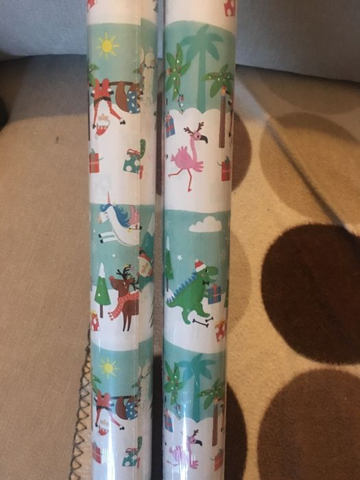 Wrapping Paper Various Types 50p-£1