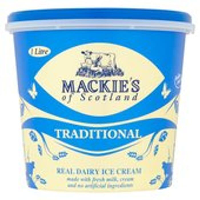 Mackie's of Scotland Traditional Ice Cream 1L